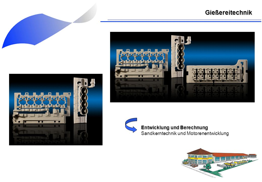 Gießereitechnik Entwicklung und Berechnung