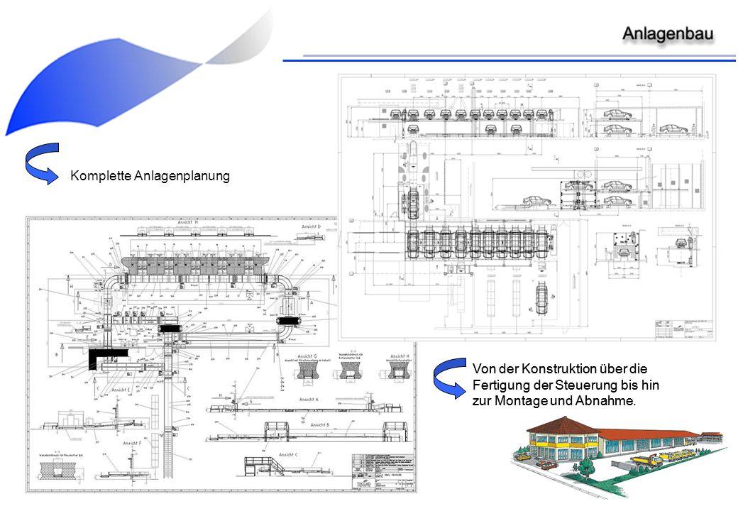 Komplette Anlagenplanung