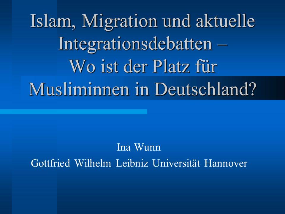 Ina Wunn Gottfried Wilhelm Leibniz Universität Hannover