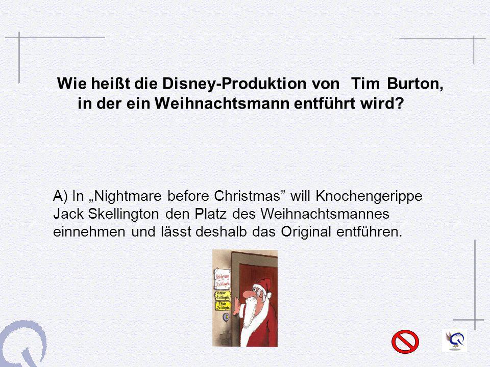 Wie heißt die Disney-Produktion von