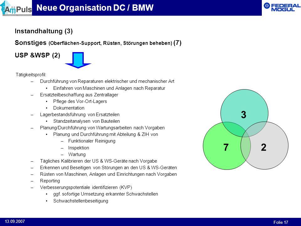 3 7 2 Neue Organisation DC / BMW Instandhaltung (3)
