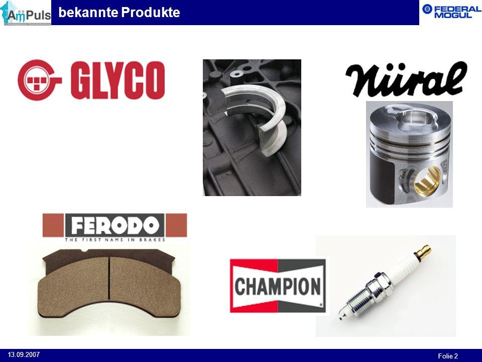 bekannte Produkte