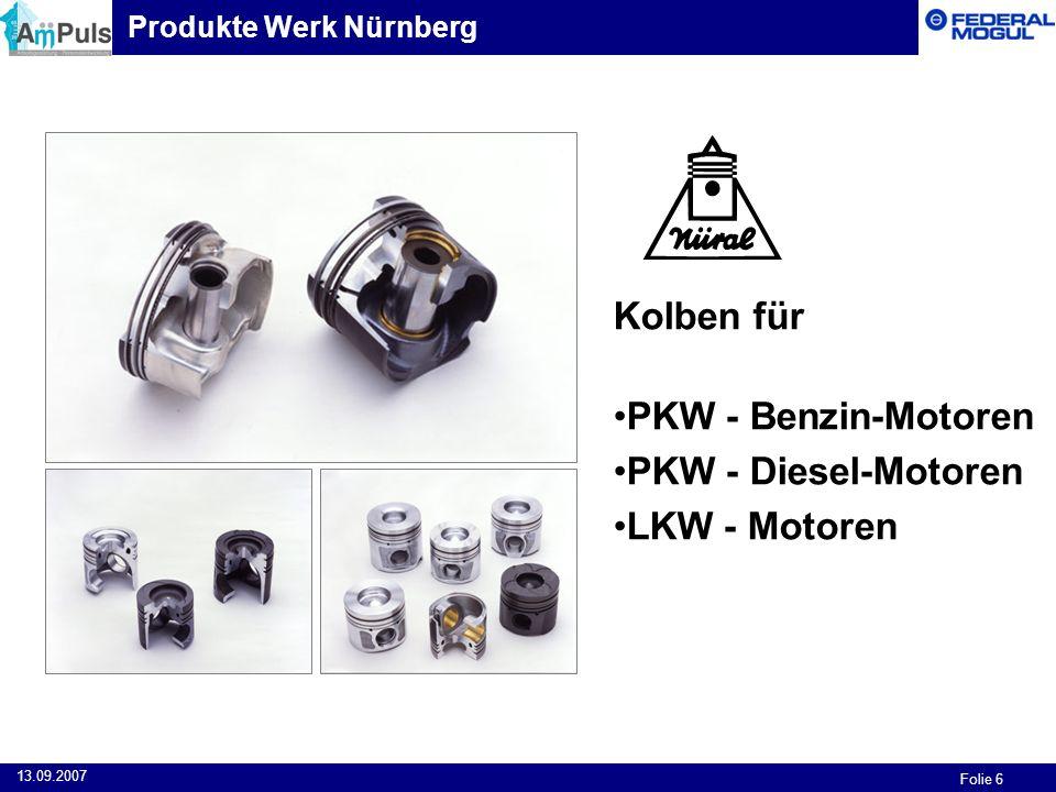 Kolben für PKW - Benzin-Motoren PKW - Diesel-Motoren LKW - Motoren