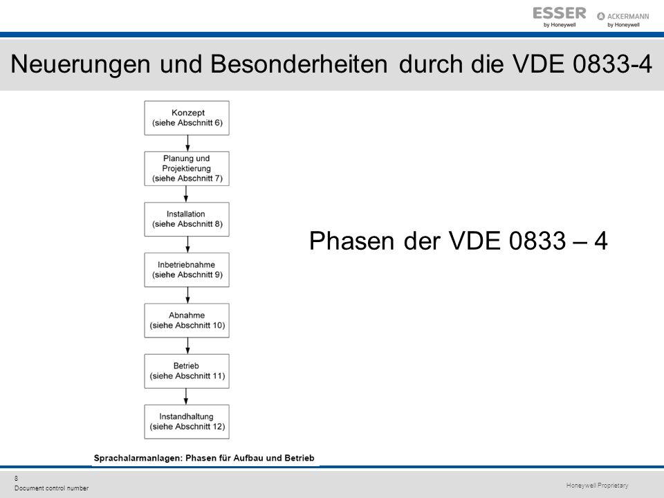 Neuerungen und Besonderheiten durch die VDE 0833-4