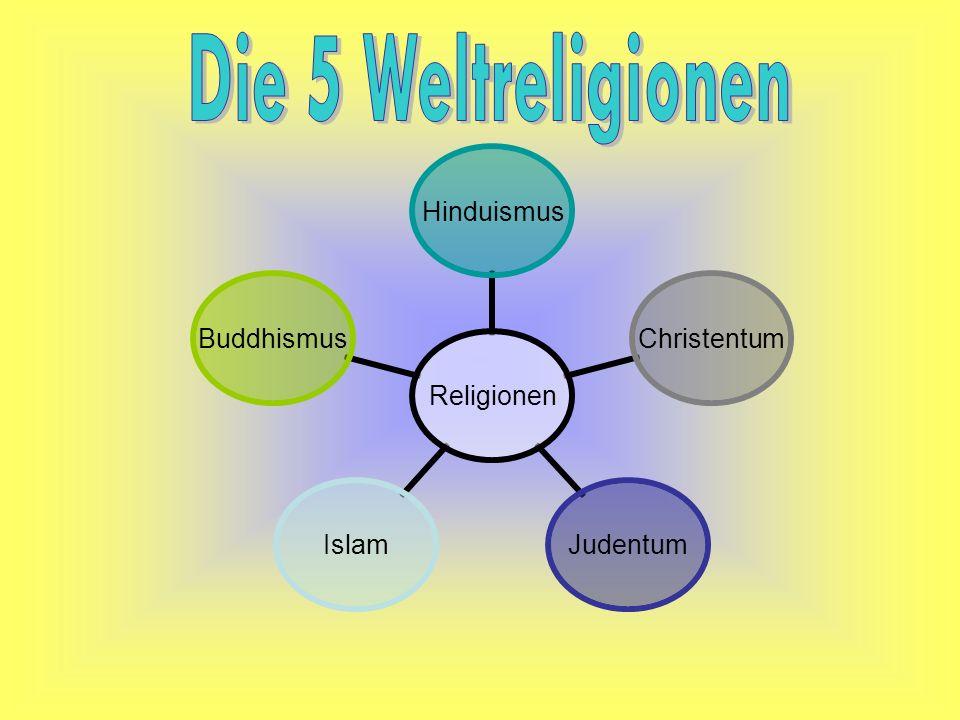 Die 5 Weltreligionen
