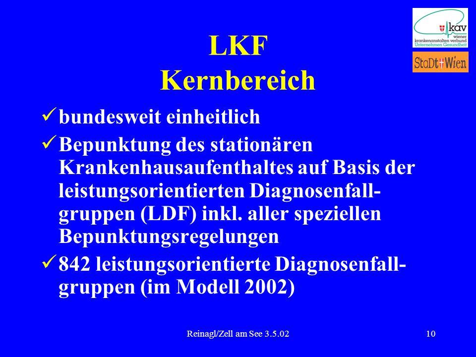 LKF Kernbereich bundesweit einheitlich