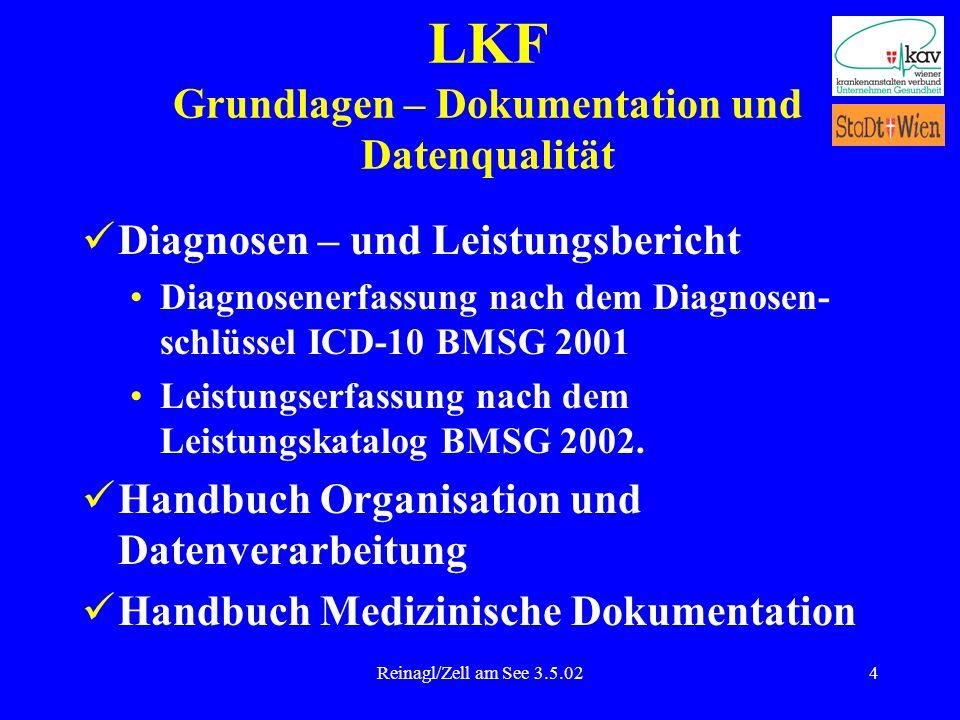 LKF Grundlagen – Dokumentation und Datenqualität