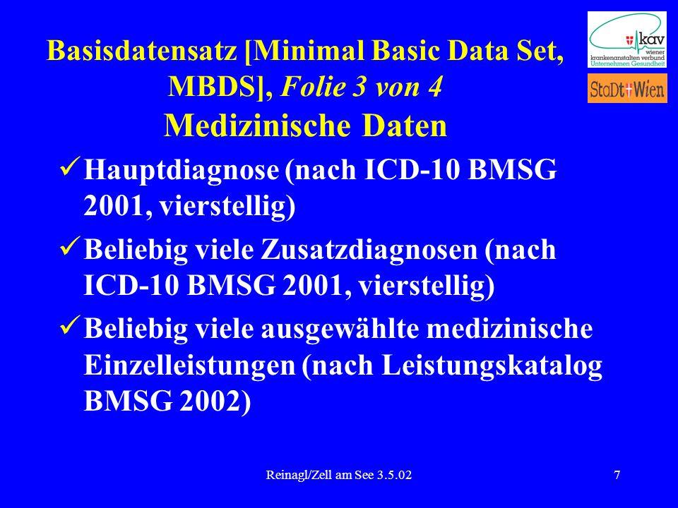 Hauptdiagnose (nach ICD-10 BMSG 2001, vierstellig)