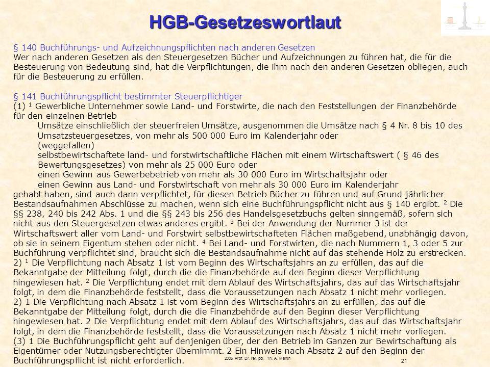 HGB-Gesetzeswortlaut