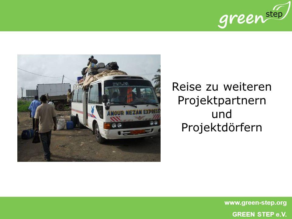 Reise zu weiteren Projektpartnern und Projektdörfern