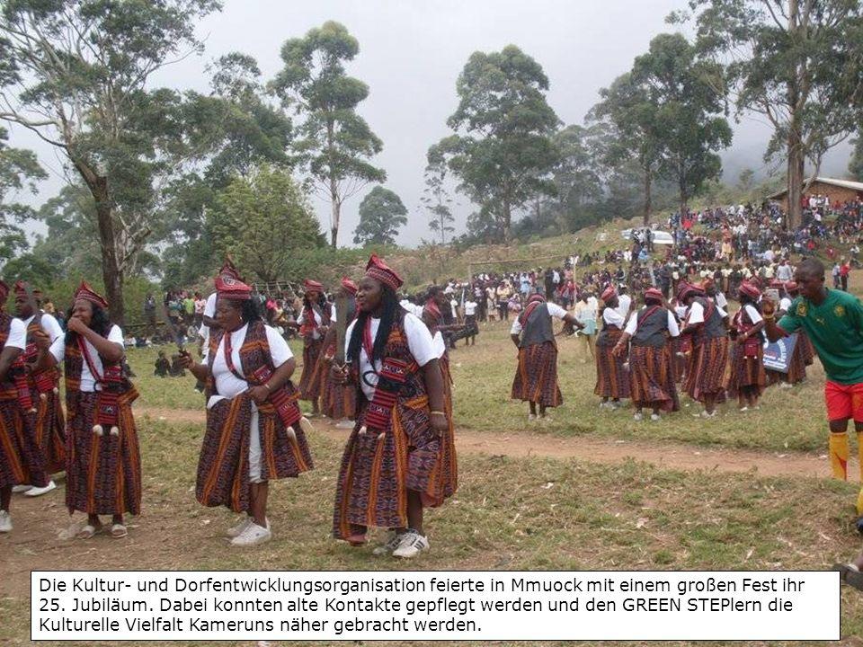 Die Kultur- und Dorfentwicklungsorganisation feierte in Mmuock mit einem großen Fest ihr 25.