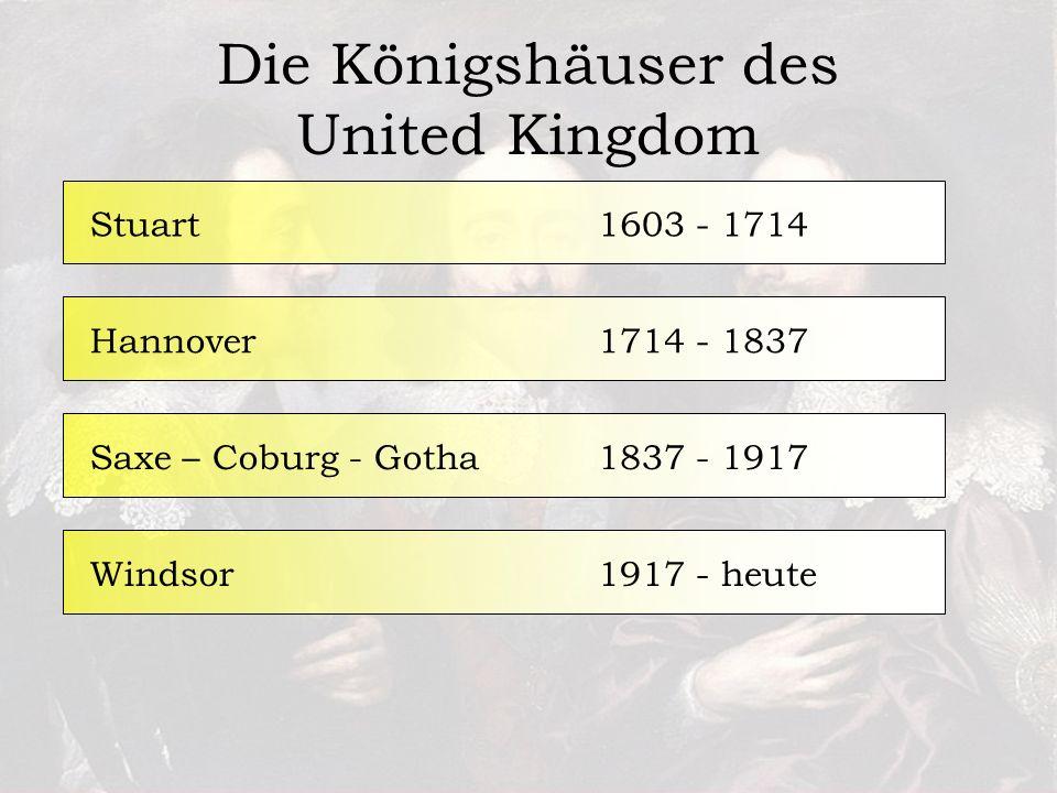 Die Königshäuser des United Kingdom