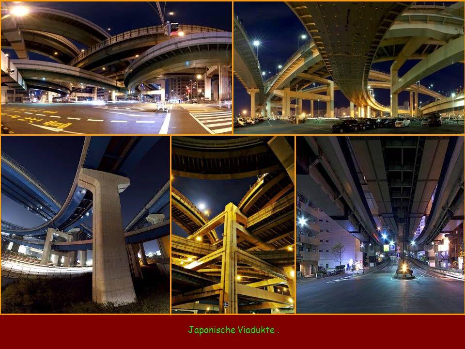 Japanische Viadukte .
