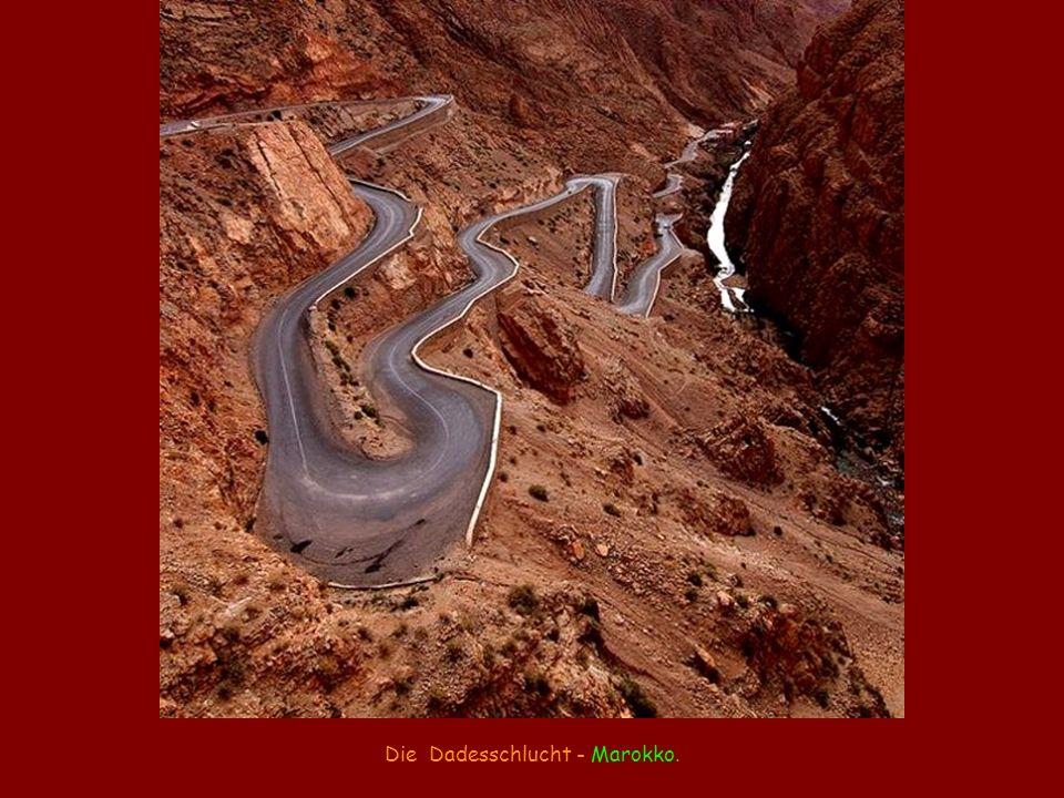 Die Dadesschlucht - Marokko.