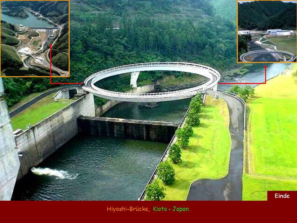 Hiyoshi-Brücke, Kioto - Japan.