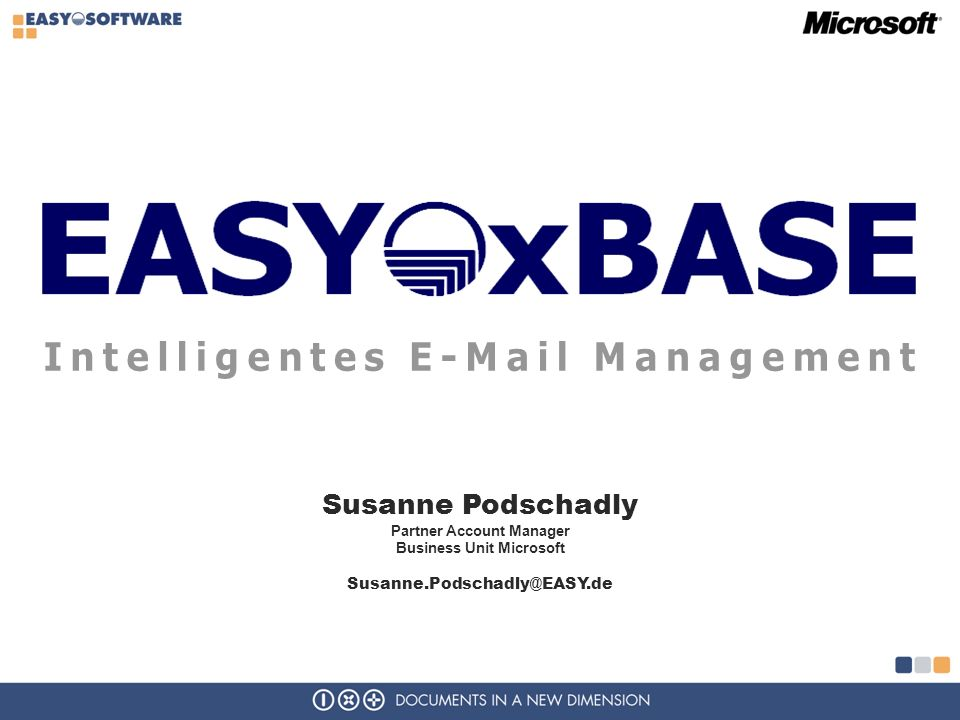 Intelligentes E-Mail Management