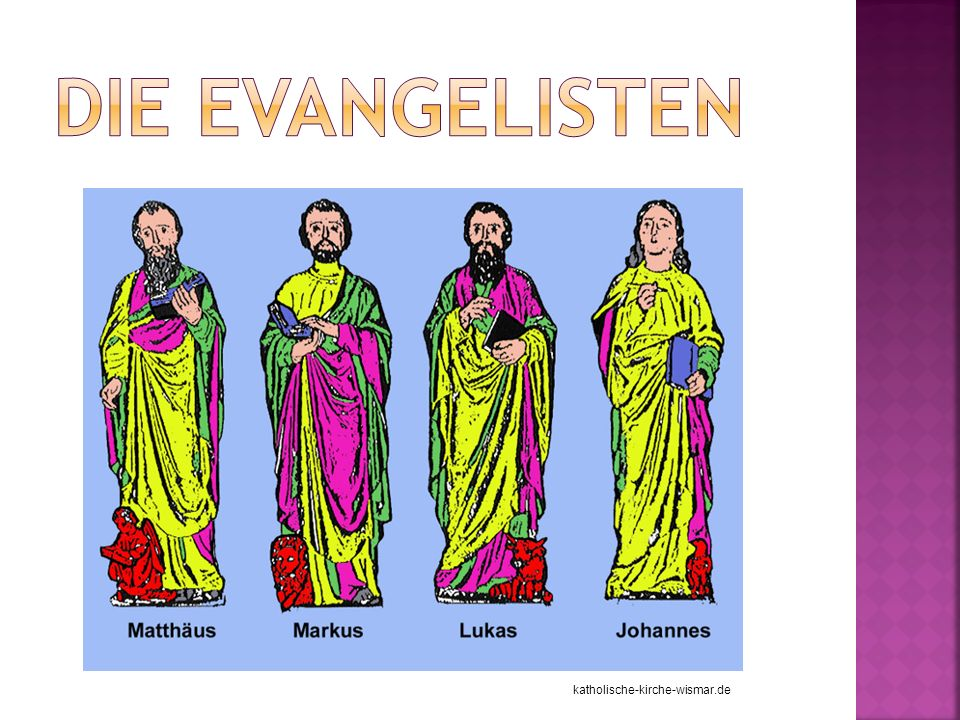 Die Evangelisten katholische-kirche-wismar.de