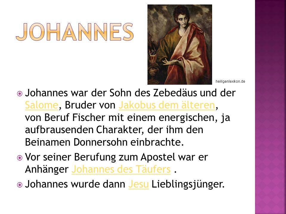 Johannes heiligenlexikon.de.