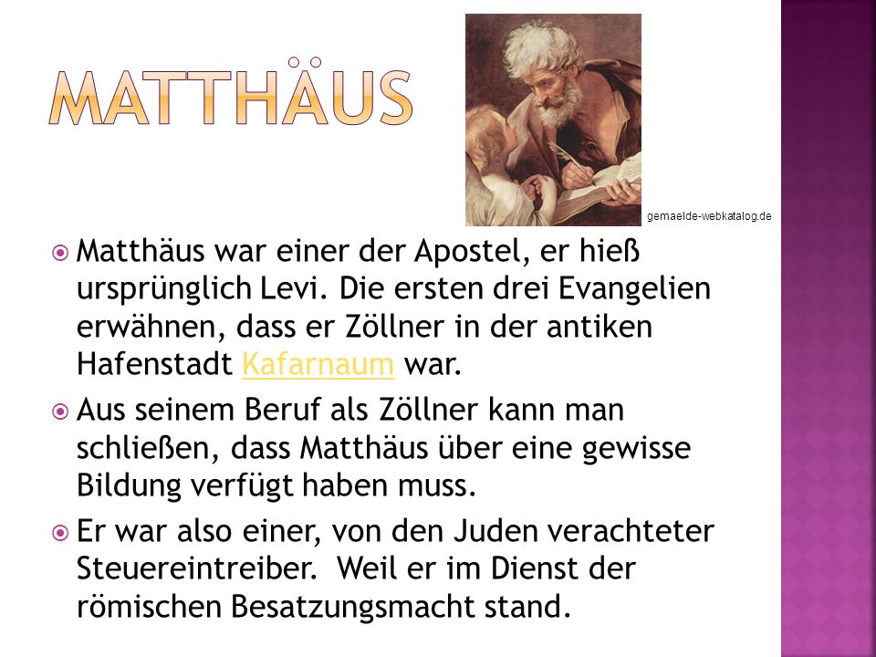 Matthäus gemaelde-webkatalog.de.
