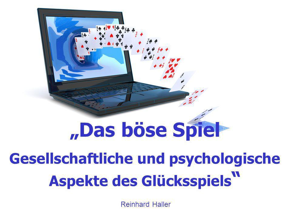 Gesellschaftliche und psychologische Aspekte des Glücksspiels