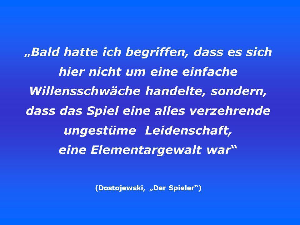 """(Dostojewski, """"Der Spieler )"""
