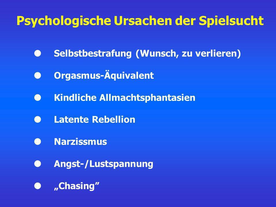 Psychologische Ursachen der Spielsucht