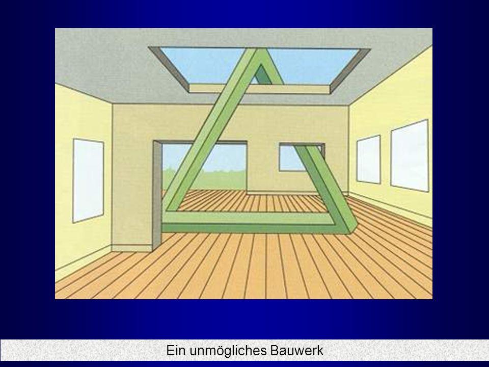 unmögliches dreieck bauen