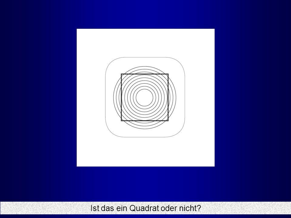Ist das ein Quadrat oder nicht