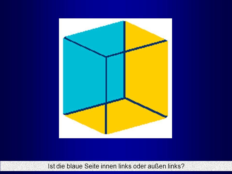 Ist die blaue Seite innen links oder außen links