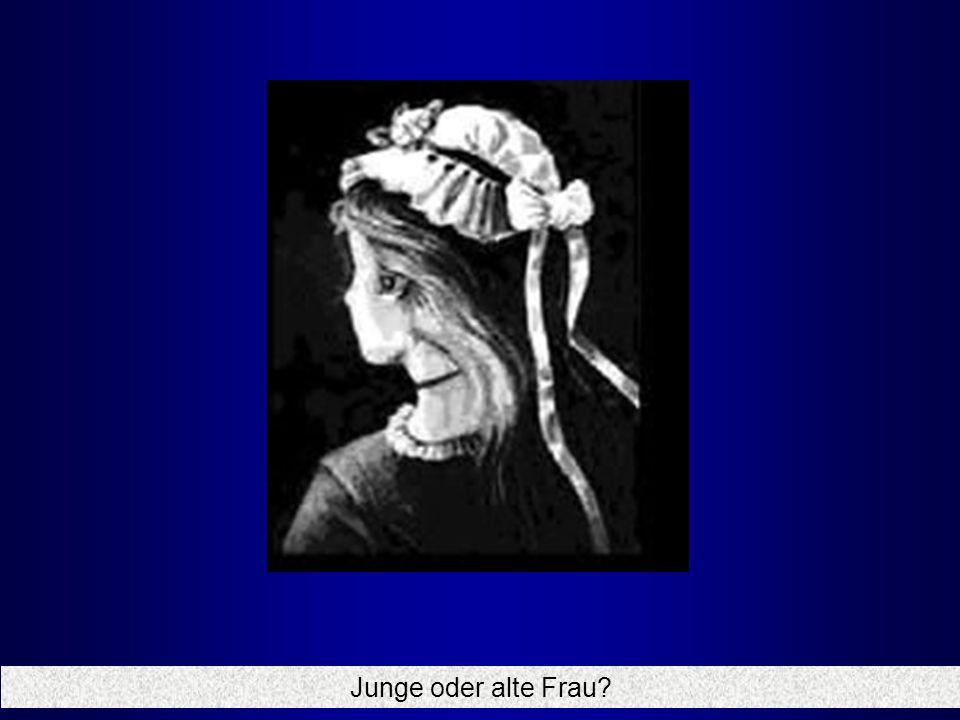 Junge oder alte Frau