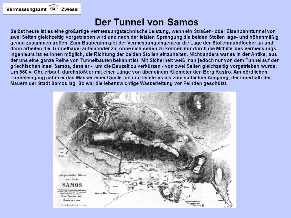 Der Tunnel von Samos