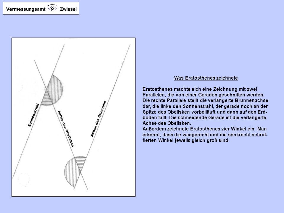 Was Eratosthenes zeichnete