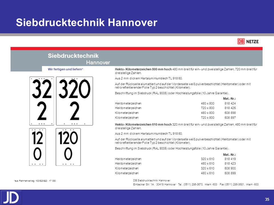 Siebdrucktechnik Hannover