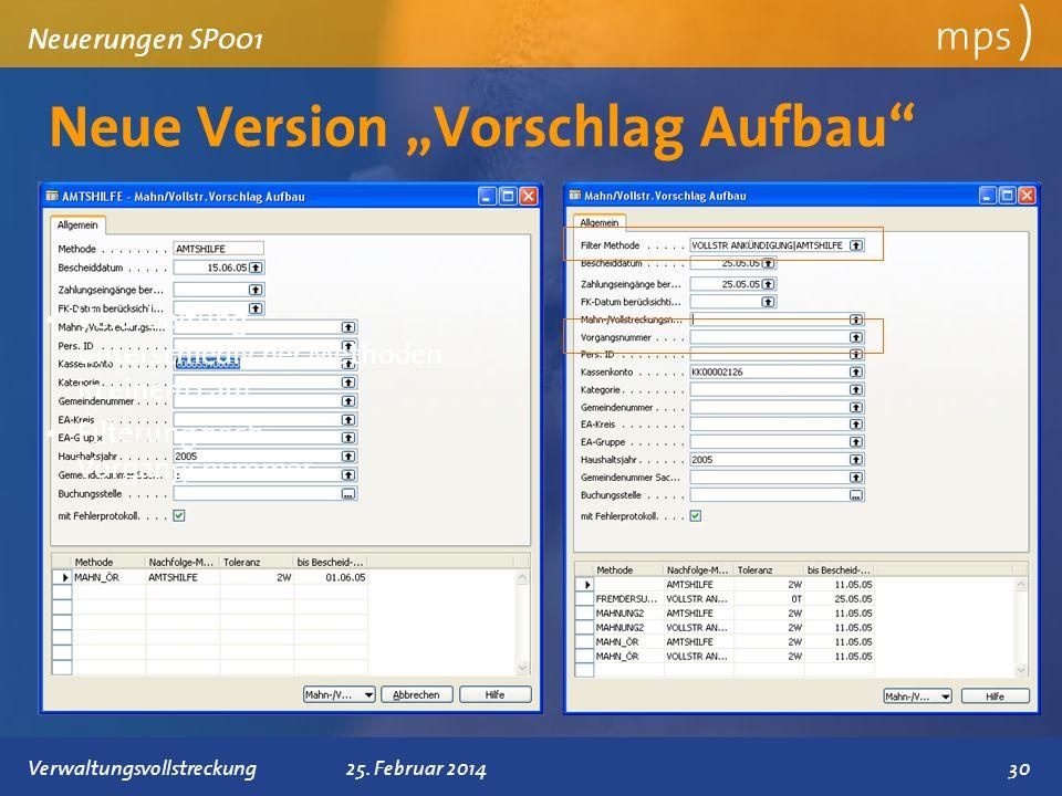 """Neue Version """"Vorschlag Aufbau"""