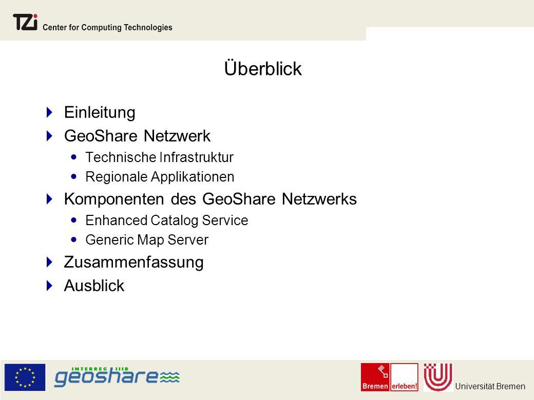 Überblick Einleitung GeoShare Netzwerk