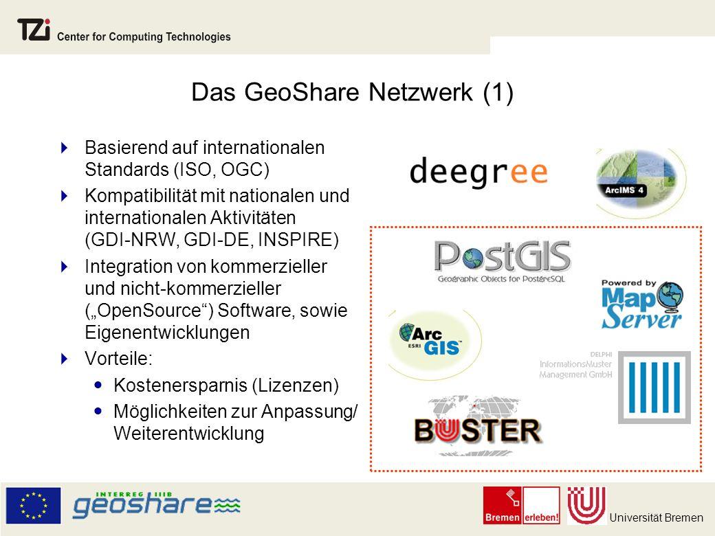 Das GeoShare Netzwerk (1)