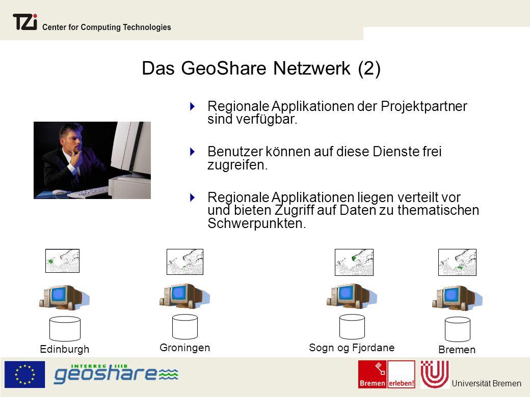 Das GeoShare Netzwerk (2)