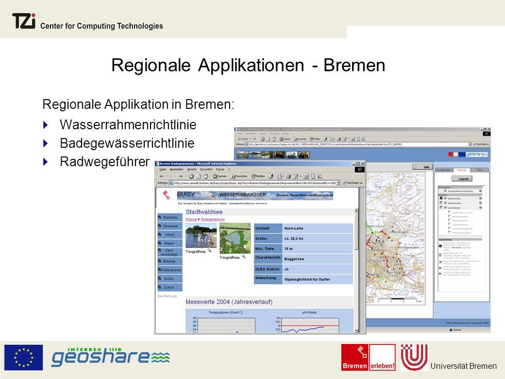 Regionale Applikationen - Bremen