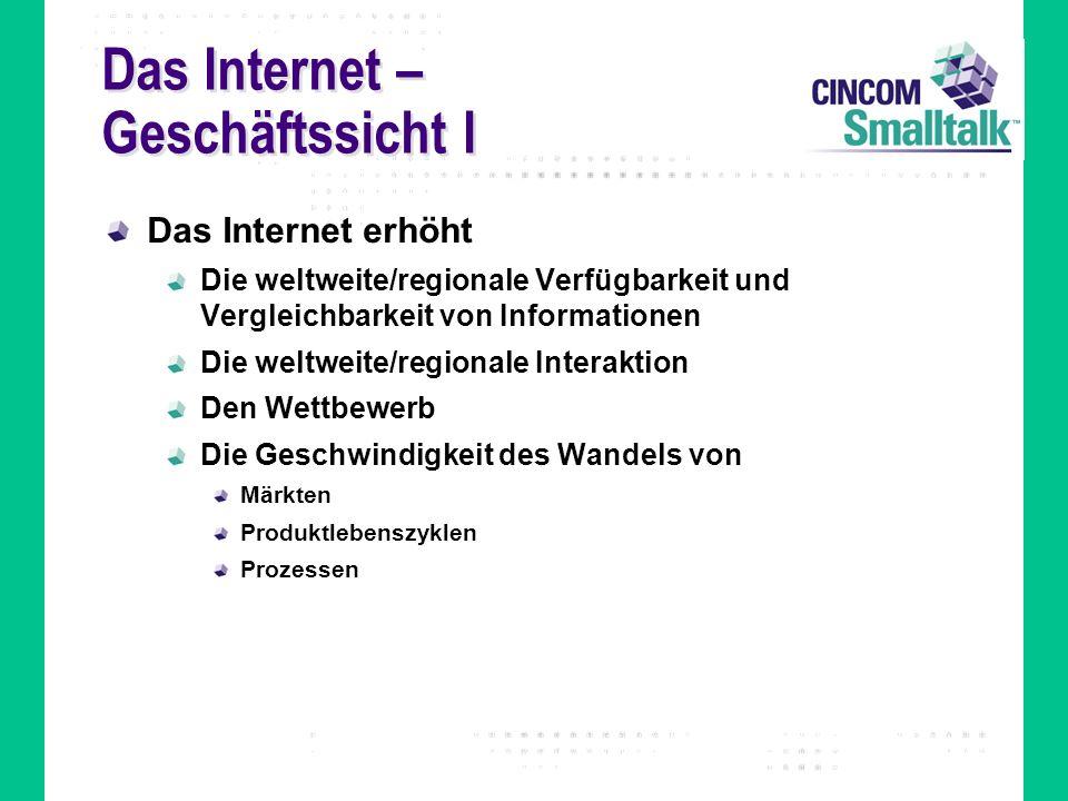 Das Internet – Geschäftssicht I