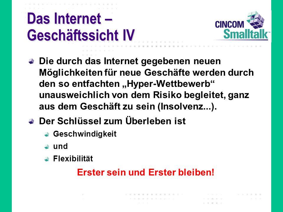 Das Internet – Geschäftssicht IV