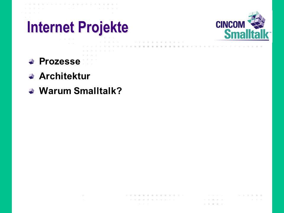 Internet Projekte Prozesse Architektur Warum Smalltalk