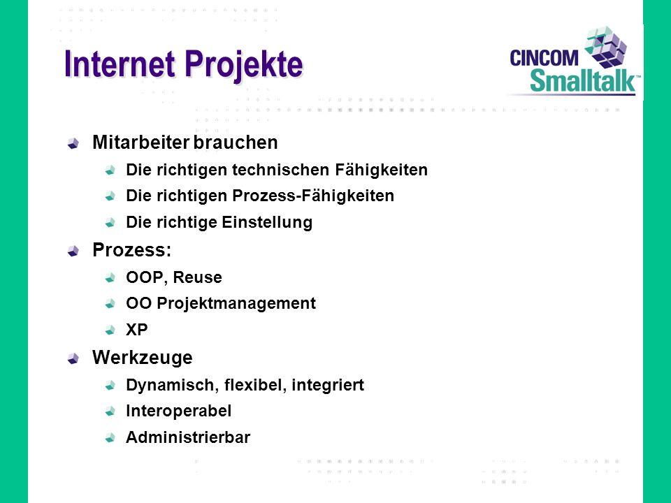 Internet Projekte Mitarbeiter brauchen Prozess: Werkzeuge