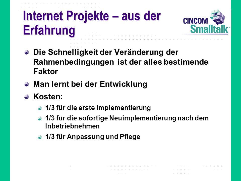Internet Projekte – aus der Erfahrung