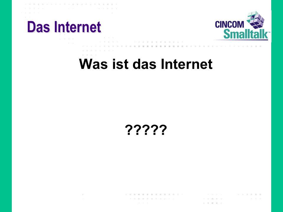 Das Internet Was ist das Internet