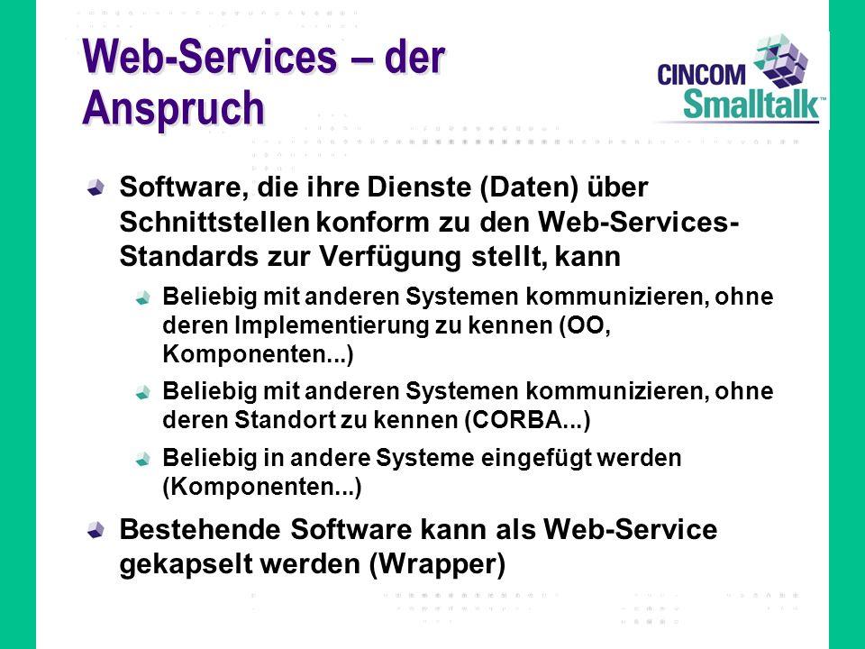 Web-Services – der Anspruch