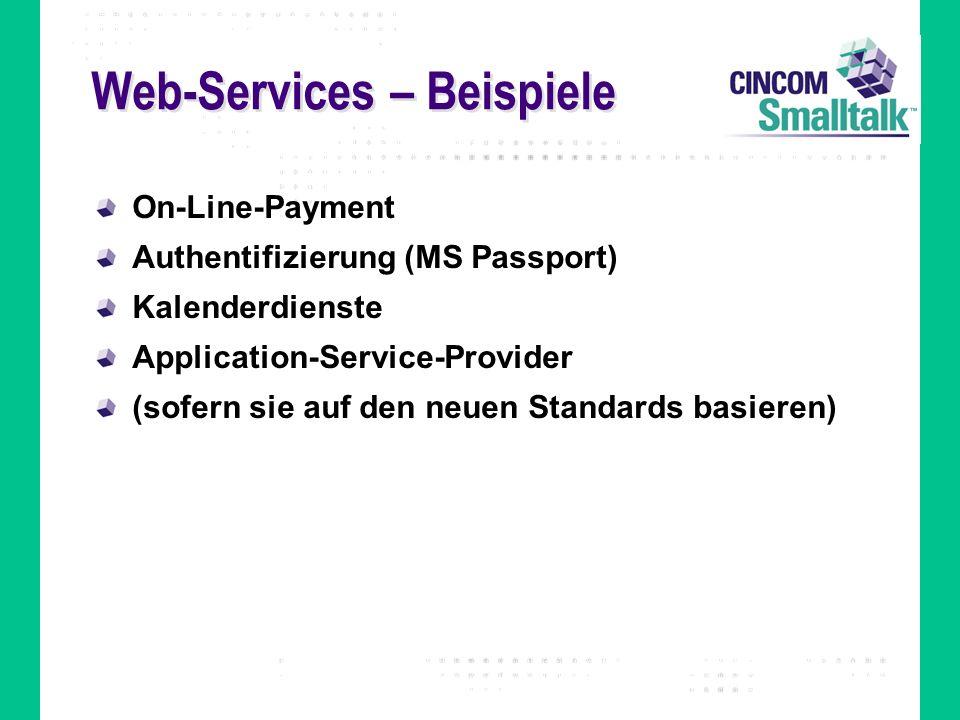Web-Services – Beispiele