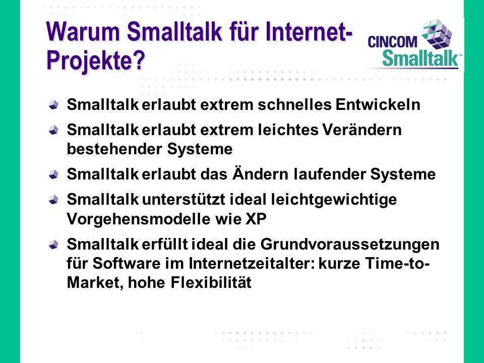 Warum Smalltalk für Internet-Projekte