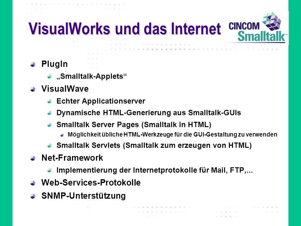 VisualWorks und das Internet