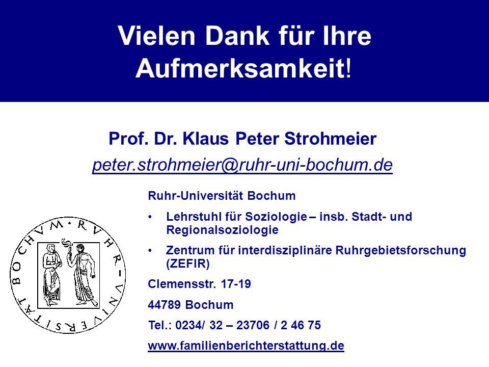 Prof. Dr. Klaus Peter Strohmeier