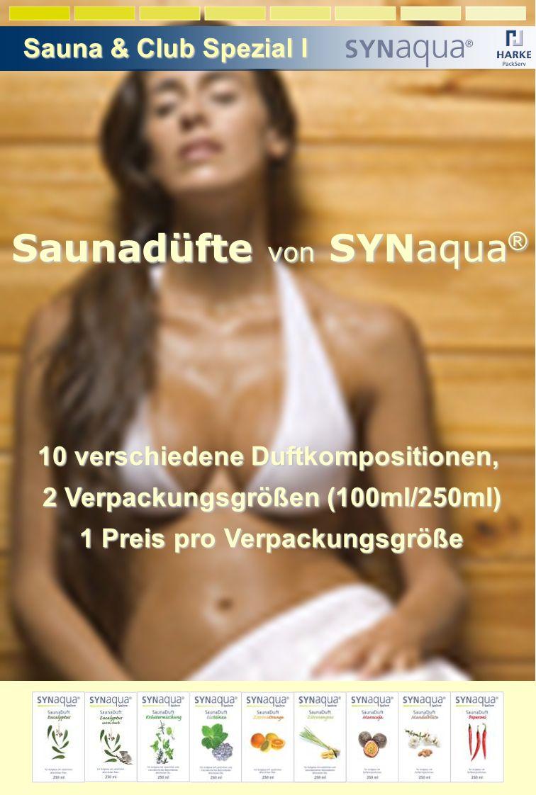 Saunadüfte von SYNaqua®